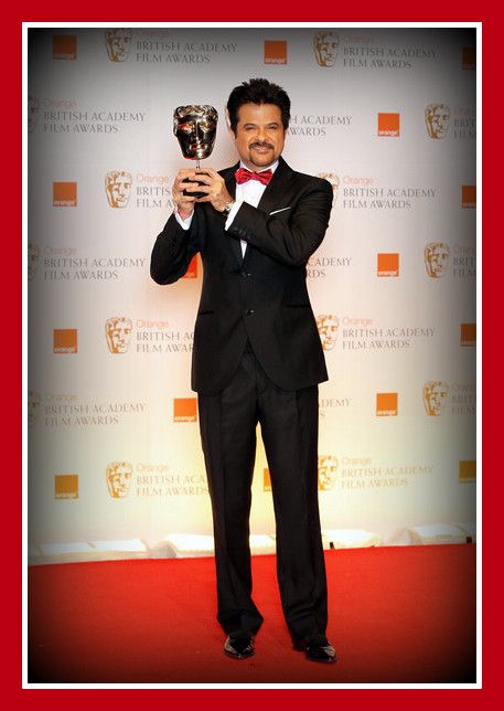 Anil Kapoor at the 2012 BAFTA Awards on Exshoesme.com