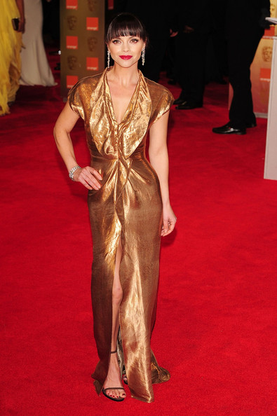 Christina Ricci in Givenchy at the 2012 BAFTAs on Exshoesme.com