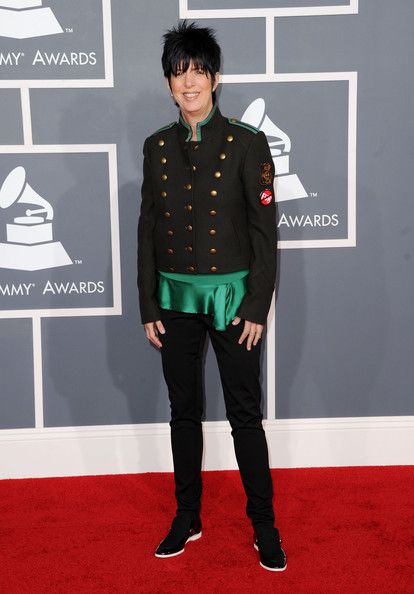 Diane Warren at the 2012 Grammy Awards on Exshoesme.com