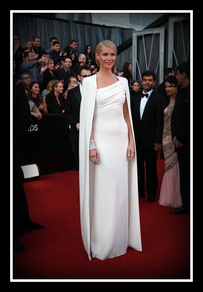 Gwyneth Paltrow in a Tom Ford cape on Exshoesme.com