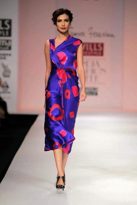 James Ferreira AW12 Big Bandani Print Dress on Exshoesme.com