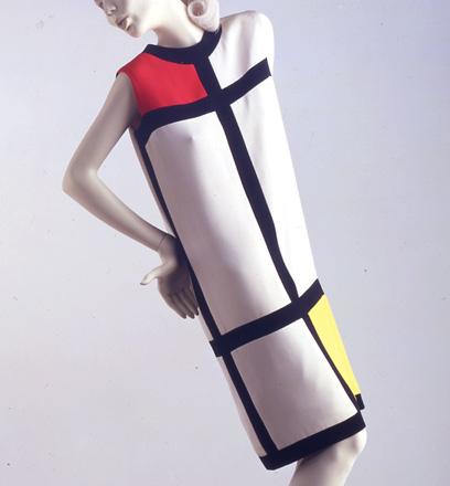 Mondrian Dress by Yves Saint Laurent, 1965 on Exshoesme.com
