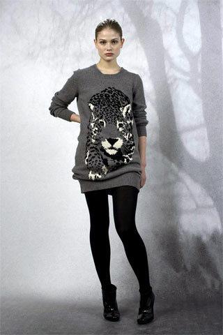 Stella McCartney PF09 Snow Leopard Sweater on Exshoesme.com