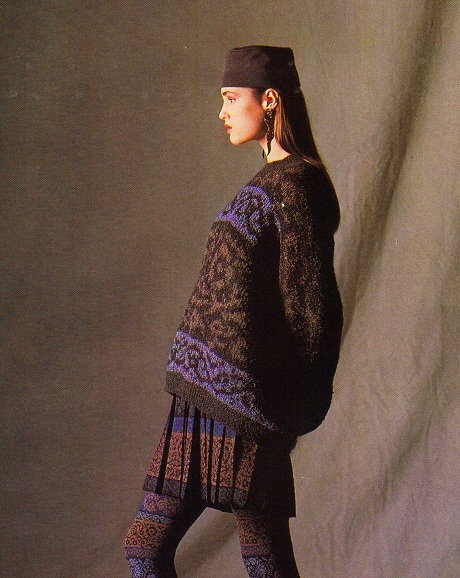 Yasmin LeBon for Missoni 1980s Ad Campaign on Exshoesme.com