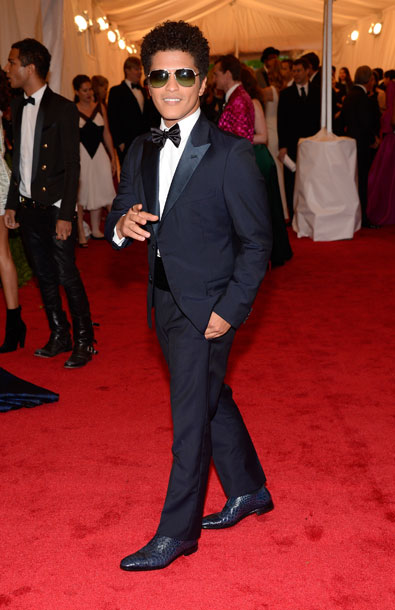 Bruno Mars in Prada at the Metropolitan Museum of Art Gala 2012 on Exshoesme.com