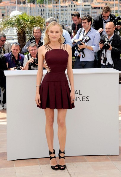 Diane Kruger in Versus at the Jurors photo call at the Cannes Film Festival May 16 2012 on Exshoesme.com.