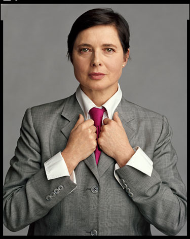 Isabella Rossellini in Harper's Bazaar April 2012 Ageless Beauty on Exshoesme.com