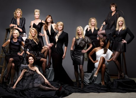The Supermodels in Harper's Bazaar April 2012 Ageless Beauty on Exshoesme.com