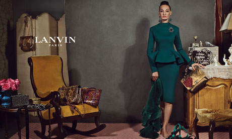 Jacquie Tajah Murdock for Lanvin AW12 on Exshoesme.com