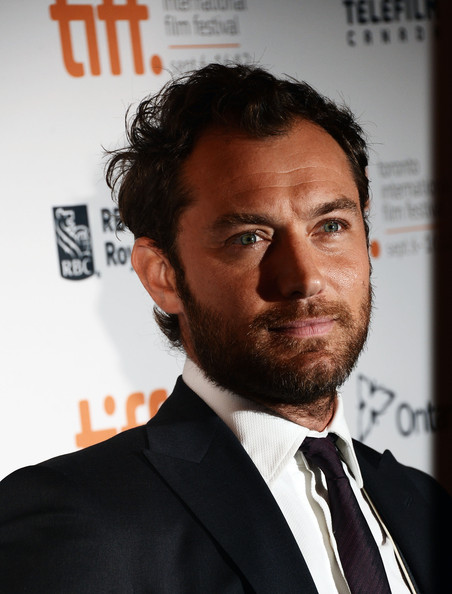 Jude Law at the Anna Karenina Premiere at the Toronto International Film Festival 2012 on Exshoesme.com (Jason Merritt)