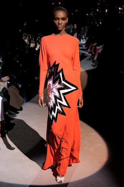 Tom Ford FW13 ka-pow gown on Exshoesme.com