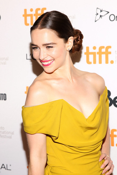 1. Emilia Clarke at the Dom Hemingway premiere at the 2013 Toronto International Film Festival #TIFF13 on Exshoesme.com. Jonathan Leibson photo