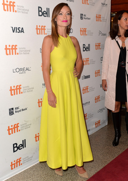 4. Olivia Wilde in Valentino at Third Person premiere at the 2013 Toronto International Film Festival #TIFF13 on Exshoesme.com. Alberto E. Rodriguez photo