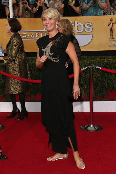 Emma Thompson at the 2014 SAG Awards on Exshoesme.com. Frederick M. Brown Getty photo