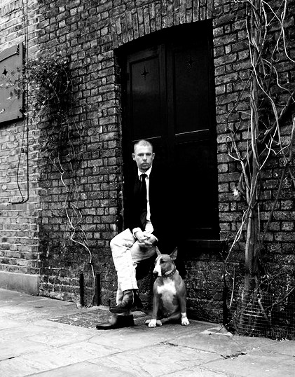 Alexander McQueen photographed by Lord Snowdon for British GQ on Exshoesme.com