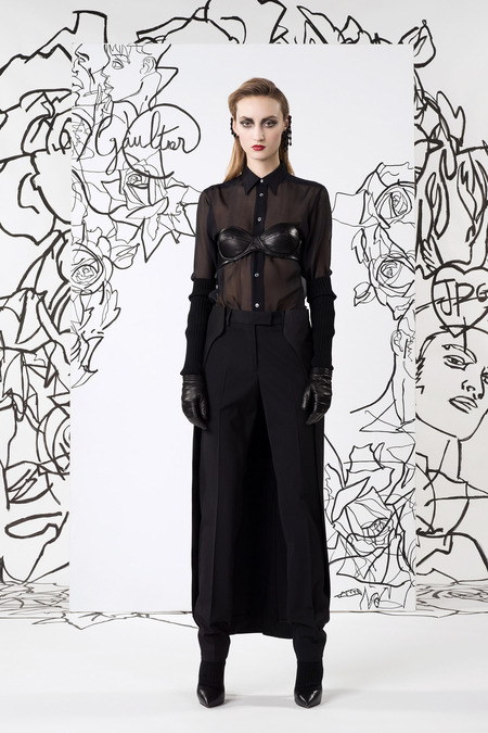 Jean Paul Gaultier PF14 Cape Pants on Exshoesme.com