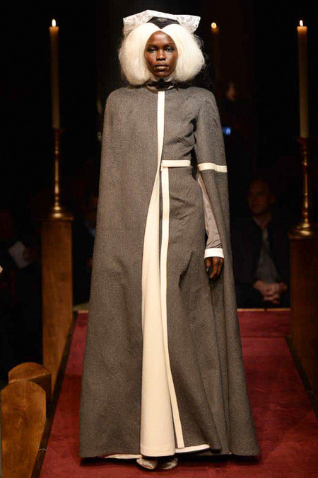 Thom Browne FW14 Floor-length cape on Exshoesme.com