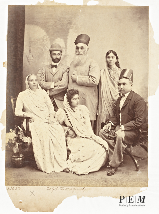 2.Mr. J. N. Tata & Family, 22 March 1898, C. Schultz, Staff Photographer, Raja Deen Dayal & Sons