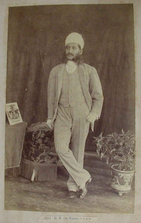 7. Nizam Mir Mahbub Ali Khan of Hyderabad; circa 1892, Raja Deen Dayal