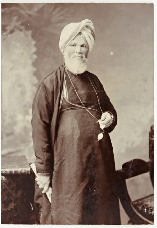 1.Portrait of Raja Deen Dayal, April 1904, E. Craig, Raja Deen Dayal & Sons studio, Bombay