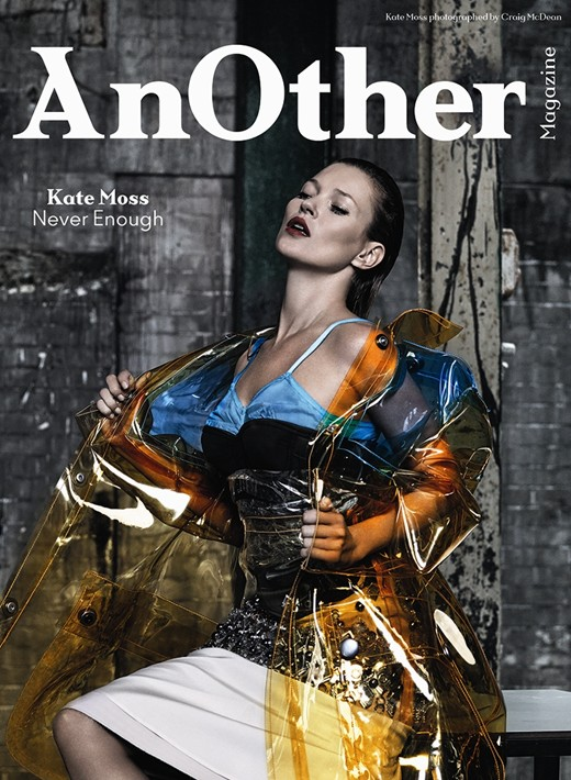 Kate Moss on the cover AW2014 cover of Another Magazine on Exshoesme.com Photography by Craig McDean, Styling by Olivier Rizzo