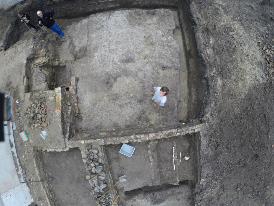Ook op stadsopgravingen komt de drone van pas © Jeroen De Reu, Gate bvba