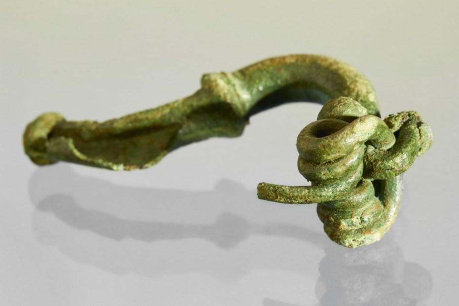 Vroeg-Romeinse mantelspeld © Kris Vandevorst