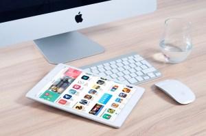 imac et application tablette