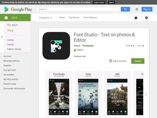 Application Font Studio