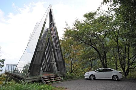 古城公園 あかつきの塔の夜景 (長野県駒ヶ根市) -こよなく夜景を愛する人へ