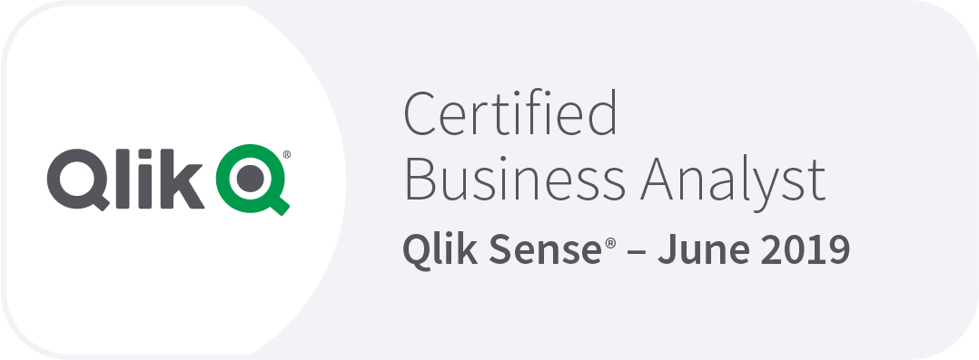 Qlik Sense Business Analyst certification