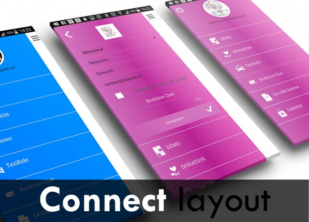 Scorri il layout Connect
