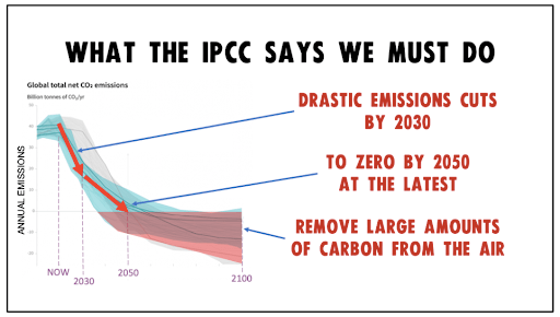 What the IPCC says we must do