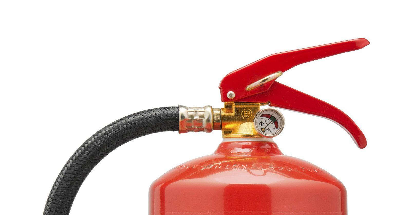 Presion extintor