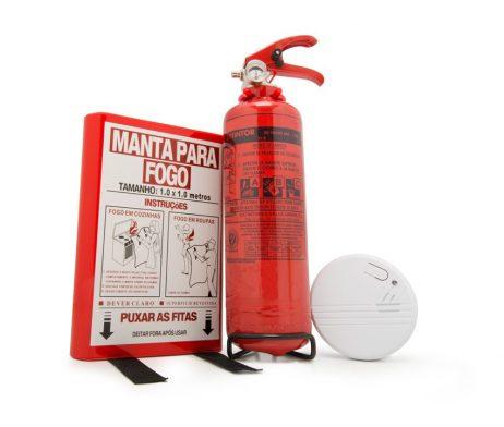 pack extintor y detector humos