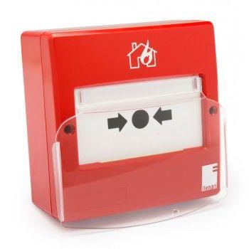 pulsador de incendios