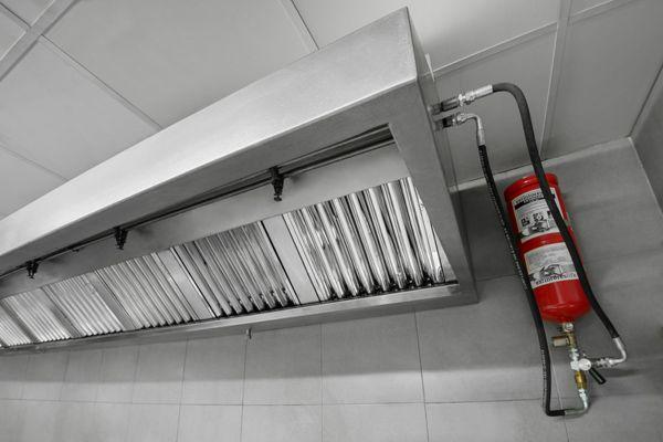 Sistema de extinci n en campana de cocina industriales con - Campanas industriales de cocina ...