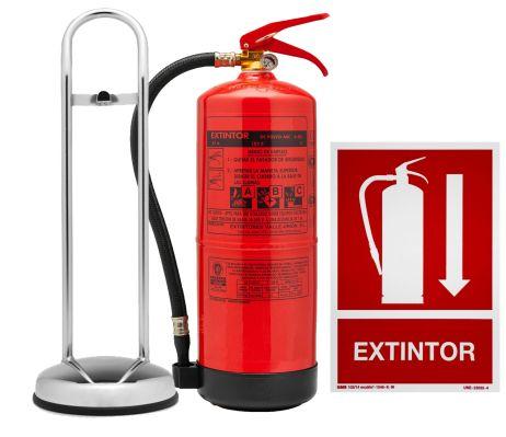 extintor soporte