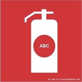 Placa de Sinalização - ABC