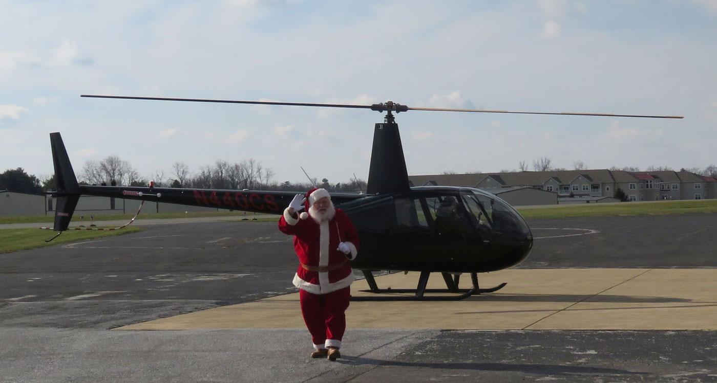 Santas Arrival Web