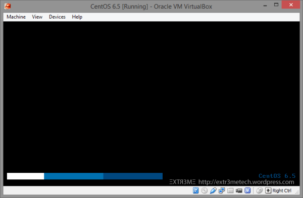 Installing CentOS 6.5 in VirtualBox [minimal ...