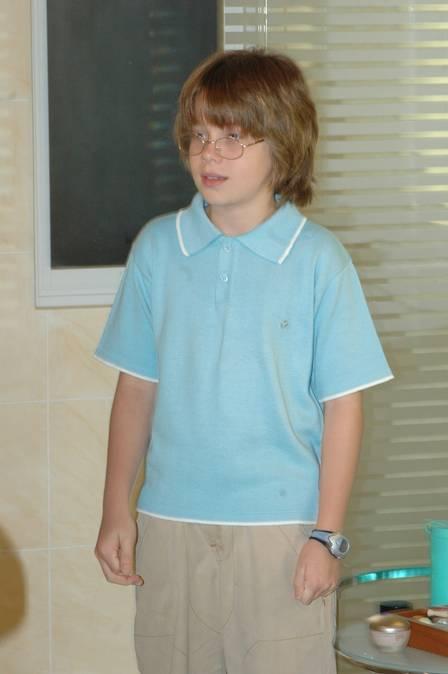 Pedro quando atuava, em 2006