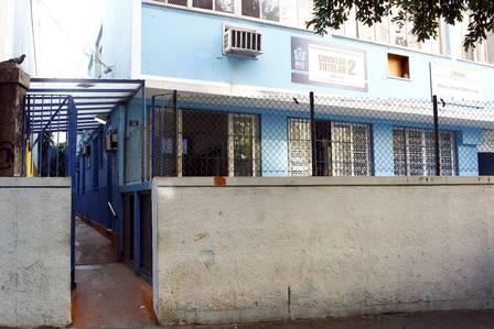 Fachada do Centro Integrado de Atendimento à Criança e ao Adolescente em Laranjeiras