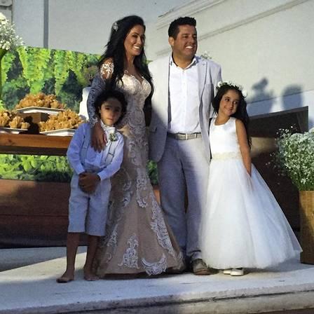 Casado há 20 anos, Bruno, da dupla com Marrone, renova os votos