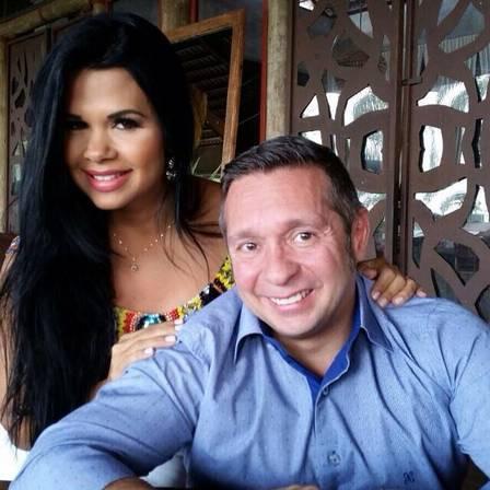 Milena Teixeira e Alessandro: namoro era mantido discretamente