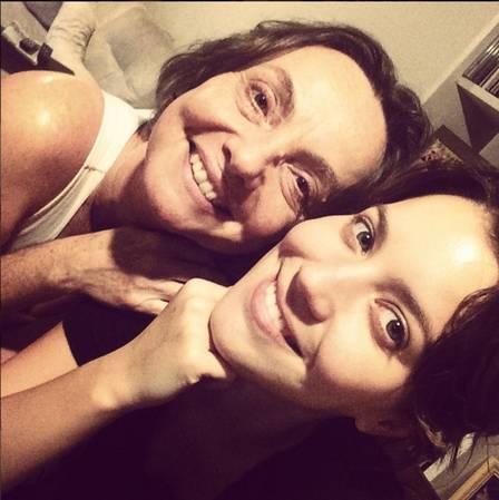 Nathalia e a mãe