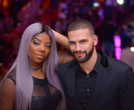 Ludmilla e o produtor americano Xerxes: fim após cinco meses
