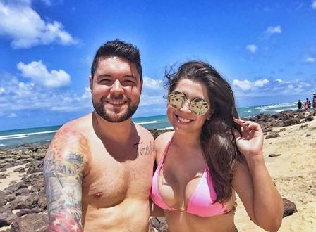 Nasser e Andressa: 4 anos juntos