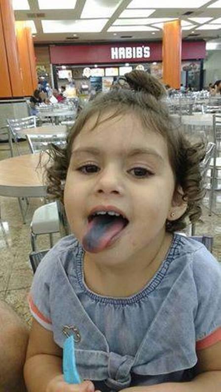 A menina morreu com 2 anos