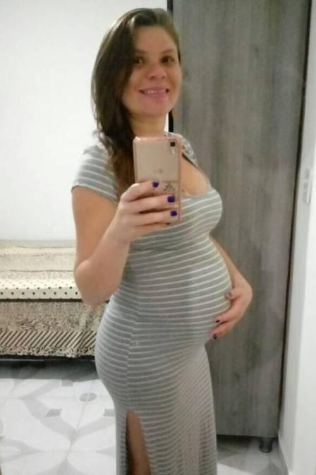 O bebê se chama Arthur e deveria nascer na próxima segunda-feira